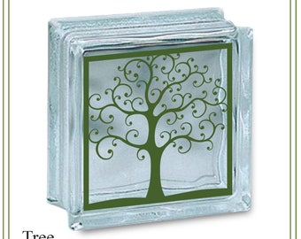 Tree svg, tree of life svg, tree glass block svg, family tree svg, tree illustration, greeting cards, signs, iron on tree, printable