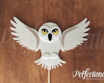 White Owl Decoration | Owl Photo Booth Prop | Hedwig Prop