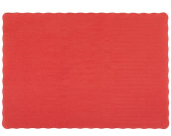Red Placemats Etsy