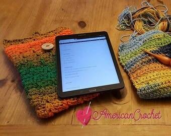 Confetti Tablet Cover Crochet Pattern