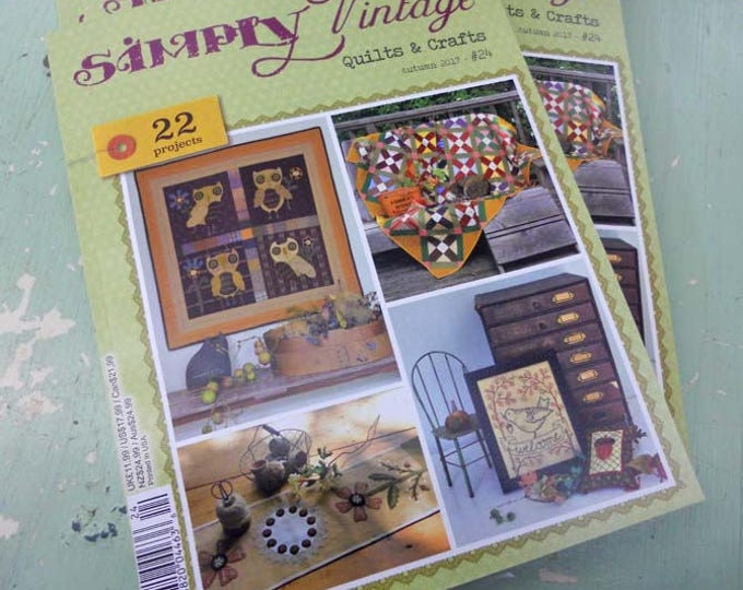 Simply Vintage by Quilt Mania autumn 2017 issue