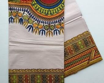 Angelina Dashiki Width Pattern Fabric (sold per panel of = 2 yards)