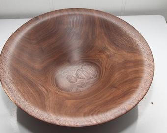 Walnut Bowl / Platter - 13 1/2 x 4 inches