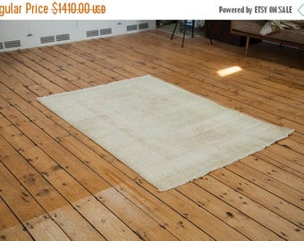 10% OFF RUGS 4x6 Distressed Oushak Rug