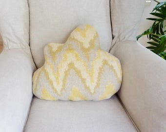 Cloud pillow wool blanket pillow cloud cushion