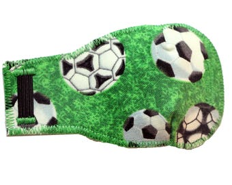 Soccer Green - Eye-Lids - kids eye patches - soft, washable eye patches for children and adults