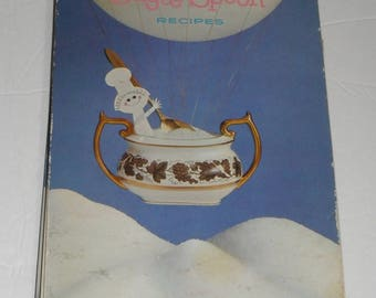 Dominio Sugar Spoon Recipes Vintage Hardcover  Cookbook 1962