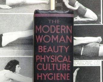 Vintage 1930s beauty book A Modern Woman