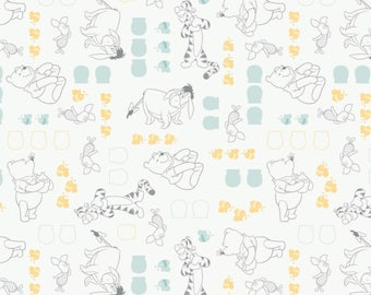 Winnie the Pooh cotton fabric by Camelot fabrics 85430101