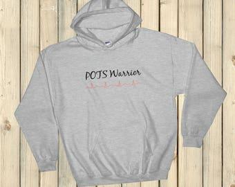 POTS Warrior Awareness Hoodie Sweatshirt - Choose Color