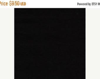 20 % off thru 8/20 JET BLACK  Michael Miller fabric 1 yard 100 Percent cotton SOLID