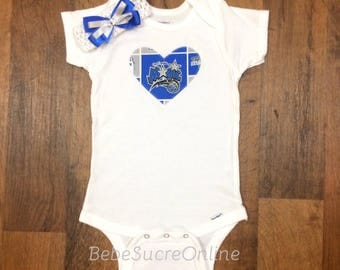 Orlando Magic Bodysuit AND Headband