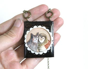 Owl and the Pussycat Necklace