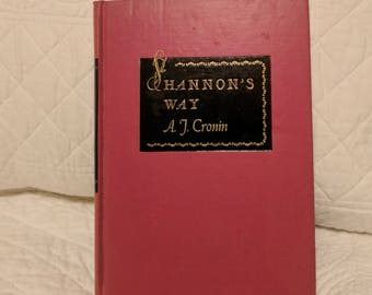 Vintage Book Journal, Old Book Diary, Shannon, Upcycled Diary, Antique Book Journal,