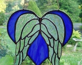 Angel wings heart | Etsy - photo#43