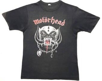 MOTORHEAD vintage 1982 tour shirt - XS