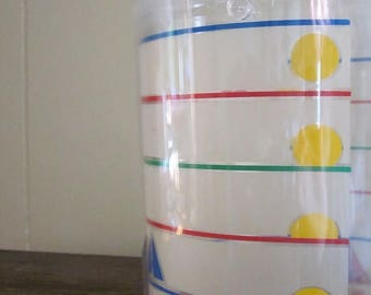 Ice Bucket / Nautical / Nautical Decor / 80s Home Decor / 80s Decor / Kitchen / Kitchenware / Summer / Summer Party / Housewarming Gift