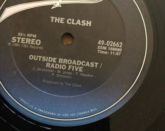 """Clash 12"""" single The Call Up The Cool Out The Magnificent Dance / 7"""