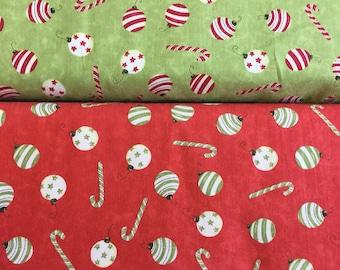 Clothworks Santa's on His Way Y1681 by the half metre
