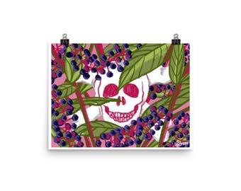 Pokeweed Print