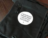 Custom listing for Solemnly Swear Engineer Bag