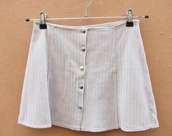 aline skirt bottoni 90s 42