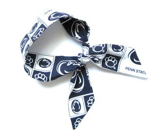 Penn State Scarf, Skinny Scarf, Nittany Lions Scarf, Neck Scarf, Penn Football, Penn State Spirit, Penn State Accessory, Ready to Ship