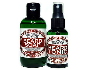 Cool Mint Beard Care Set, All Natural and Handmade in Ireland