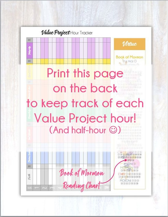 meandmyimagination personal progress tracker with value project