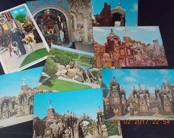 Lot of 10 Vintage Postcards Unused - Grotto of Redemption West Bend, Iowa - Father Dobberstein - 1960's Vintage Ephemera Collage Paper Art