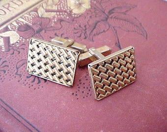 Handsome Pair of Gentleman's Vintage Cuff-Links