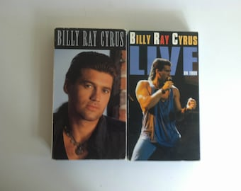 Billy Ray Cyrus by Billy Ray Cyrus (VHS, 1992, Polygram) LOT OF 2