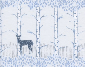 PRESALE - Frost - Fawn Forest in Neutral - Cotton + Steel Collab - 5186-002 - Half Yard