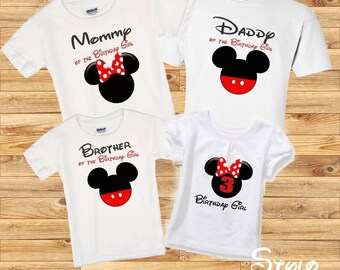 Minnie Mouse Family shirts, birthday girl minnie mouse, birthday girl shirt, family minnie, family shirts, birthday party, disney shirt,