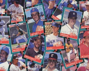Vintage Baseball Cards 142-211 Donruss 1988 Singles, Combined Shipping, Order 1 or more cards and pay one combined shipping price -