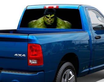 Hulk movies Rear Window Decal Sticker Pick-up Truck SUV Car