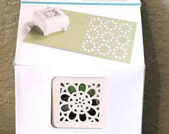 Crochet Flower Pattern Punch All Over The Page by Martha Stewart Crafts - New