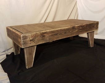 Coffee Table Reclaimed Wood Barn Wood Living Room Decor
