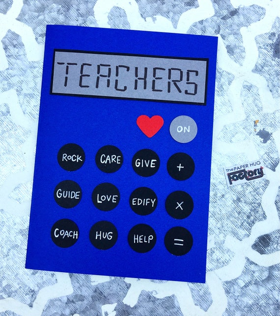 card for teachers great for back to school teacher gifts and