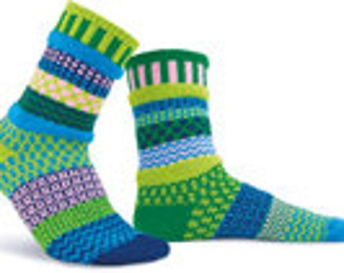 Solmate Socks - Water Lily Crew