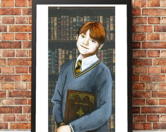 Poster of First Year Ron Weasley