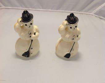 Vintage Snowman ornaments