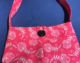 Little girl and toddler pleated purse