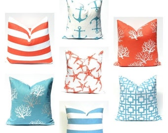 15% Off Sale Euro Pillow Decorative Pillow Accent Pillow  Euro Pillow Cover, Pillows Decorative pillows -  Euro Sham - Decorative Blue Pillo