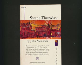 Sweet Thursday, by John Steinbeck, paperback, 1961