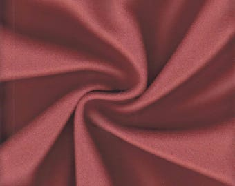 By the Yard Maharam Upholstery Fabric Kvadrat Divina Wool Burnt Orange 460730–552 (EN)