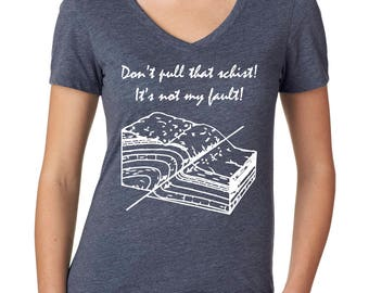 Geology Shirt for Her, Geology Gift for Her, Science Clothing for Women, Geologist Gift
