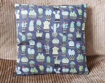 "cactus cacti decorative pillow cushion cover 16"" x 16"""