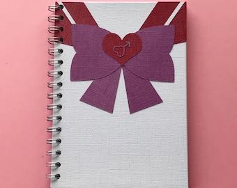 Sailor Mars A5/A4 Notebook/Journal