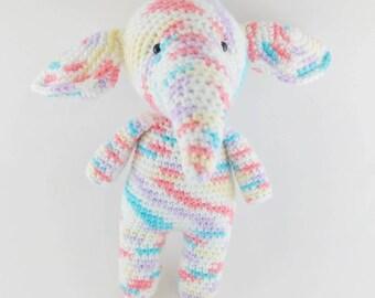 READY TO SHIP - Sweet Pastel Elephant